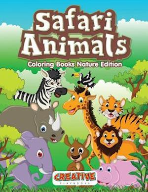Bog, hæftet Safari Animals Coloring Books Nature Edition af Creative Playbooks