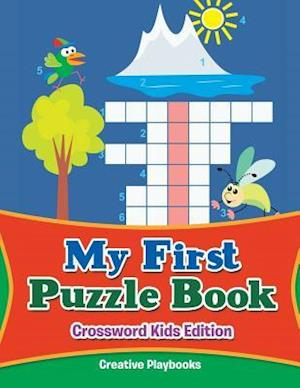 Bog, hæftet My First Puzzle Book - Crossword Kids Edition af Creative Playbooks