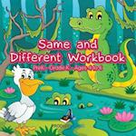 Same and Different Workbook | PreK-Grade K - Ages 4 to 6 af Prodigy Wizard