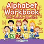 Alphabet Workbook | PreK-Grade K - Ages 4 to 6 af Prodigy Wizard