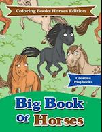 Big Book Of Horses - Coloring Books Horses Edition
