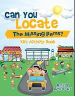 Can You Locate The Missing Items? Kids Activity Book