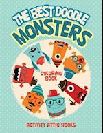 The Best Doodle Monsters Coloring Book