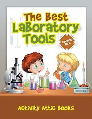 Bog, hæftet The Best Laboratory Tools Coloring Book af Activity Attic Books