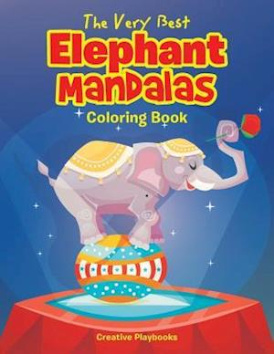 The Very Best Elephant Mandalas Coloring Book