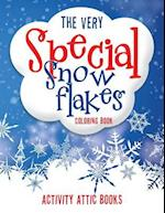The Very Special Snowflakes Coloring Book