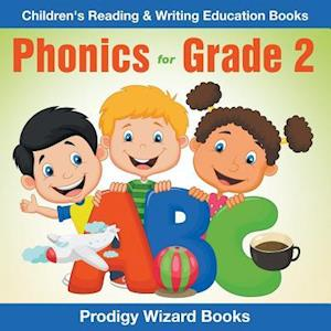 Bog, hæftet Phonics for Grade 2 : Children's Reading & Writing Education Books af Prodigy Wizard Books