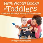 First Words Books for Toddlers : Children's Reading & Writing Education Books