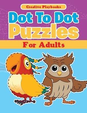 Bog, hæftet Dot To Dot Puzzles For Adults af Creative Playbooks
