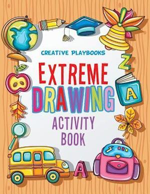 Bog, hæftet Extreme Drawing: Activity Book af Creative Playbooks