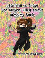 Learning to Draw for Action-Filled Anime Activity Book
