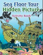 Sea Floor Tour Hidden Picture Activity Book af Creative Playbooks