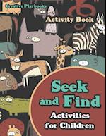 Seek and Find Activities for Children Activity Book