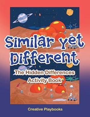 Bog, hæftet Similar yet Different: The Hidden Differences Activity Book af Creative Playbooks
