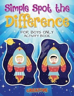 Bog, paperback Simple Spot the Difference for Boys Only Activity Book