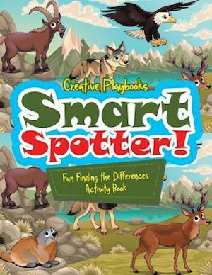 Bog, hæftet Smart Spotter! Fun Finding the Differences Activity Book af Creative Playbooks