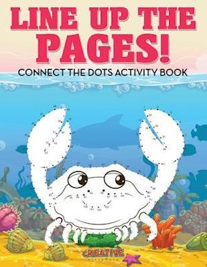 Bog, paperback Line Up the Pages! Connect the Dots Activity Book af Creative Playbooks