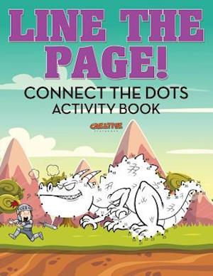 Bog, hæftet Line The Page! Connect the Dots Activity Book af Creative Playbooks