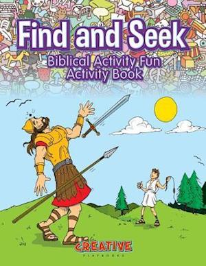 Bog, paperback Find and Seek Biblical Activity Fun Activity Book