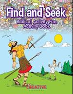 Find and Seek Biblical Activity Fun Activity Book