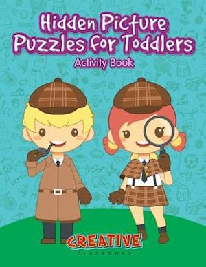 Bog, hæftet Hidden Picture Puzzles for Toddlers Activity Book af Creative Playbooks