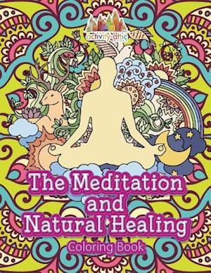 Bog, paperback The Meditation and Natural Healing Coloring Book af Activity Attic
