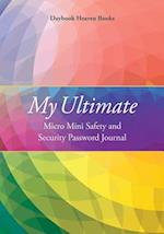 My Ultimate Micro Mini Safety and Security Password Journal af Daybook Heaven Books