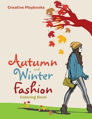 Bog, paperback Autumn and Winter Fashion Coloring Book af Creative Playbooks