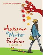 Autumn and Winter Fashion Coloring Book