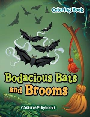 Bog, paperback Bodacious Bats and Brooms Coloring Book af Creative Playbooks