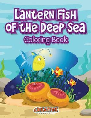 Lantern Fish of the Deep Sea Coloring Book