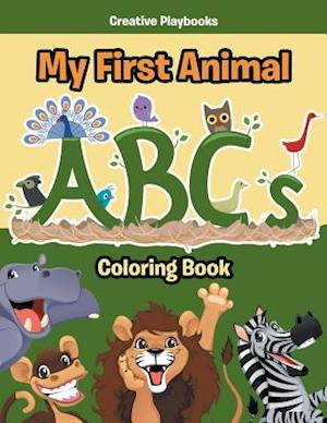 Bog, hæftet My First Animal ABCs Coloring Book af Creative Playbooks