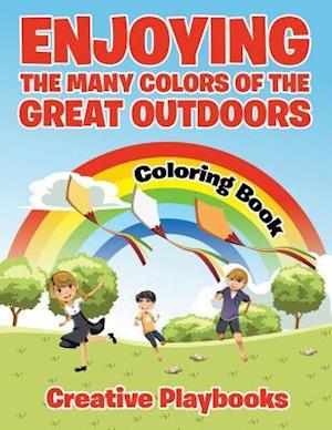 Bog, hæftet Enjoying the Many Colors of the Great Outdoors Coloring Book af Creative Playbooks