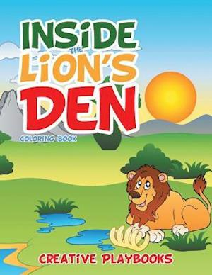 Inside the Lion's Den Coloring Book