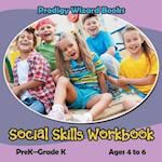 Social Skills Workbook | PreK-Grade K - Ages 4 to 6