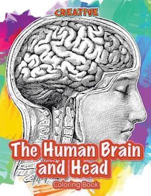 Bog, paperback The Human Brain and Head Coloring Book af Creative Playbooks