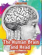 The Human Brain and Head Coloring Book af Creative Playbooks
