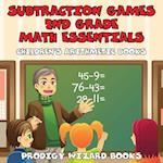 Subtraction Games 2nd Grade Math Essentials Children's Arithmetic Books