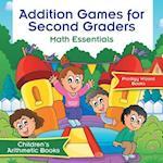 Addition Games for Second Graders Math Essentials | Children's Arithmetic Books