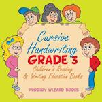 Cursive Handwriting Grade 3 af Prodigy Wizard Books