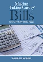 Making Taking Care of Bills with Monthly Bill Sheets