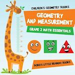 Geometry and Measurement Grade 2 Math Essentials af Bobo's Little Brainiac Books
