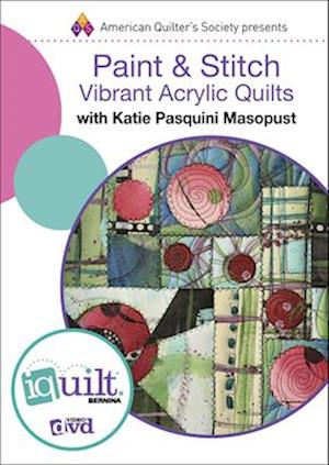 Bog, hardback Paint & Stitch af Katie P. Masopust