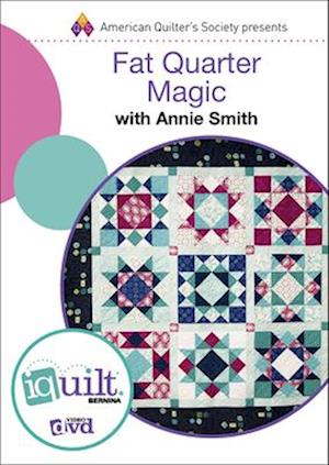 Bog, hardback Fat Quarter Magic af Annie Smith