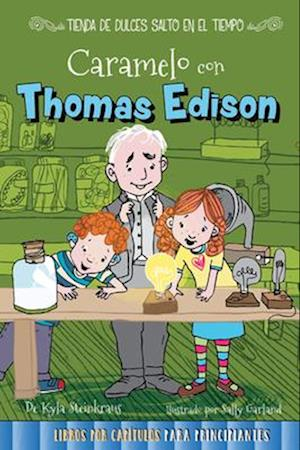 Bog, paperback Caramelo con Thomas Edison /Caramel with Thomas Edison af Kyla Steinkraus