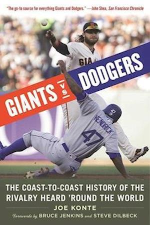 Bog, paperback Giants vs. Dodgers af Joe Konte