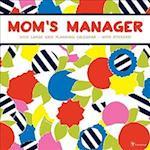 Mom's Manager 2018 Large Grid Planning Calendar