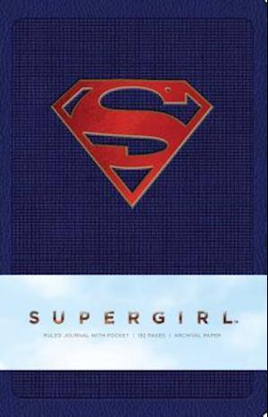 Supergirl hardcover Ruled Journal