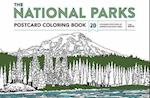 The National Parks Postcard Coloring Book