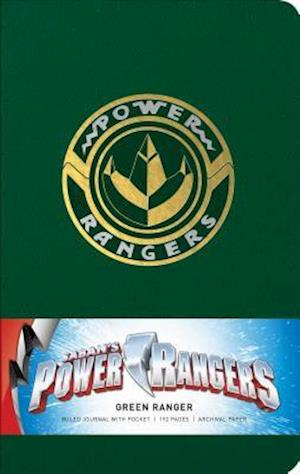 Ukendt format Power Rangers: Green Ranger Hardcover Ruled Journal